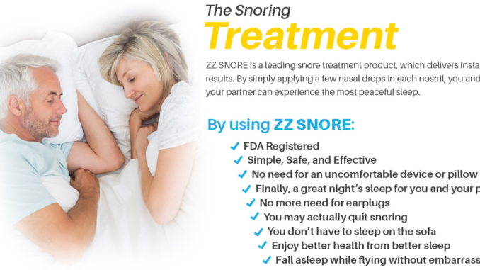 ZZ Snore Review - Stop Snoring Tonight - Wellness Publication Reviews