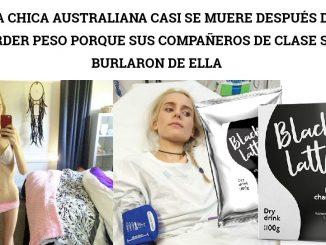 Una chica australiana casi se muere después de perder peso porque sus compañeros de clase se burlaron de ella