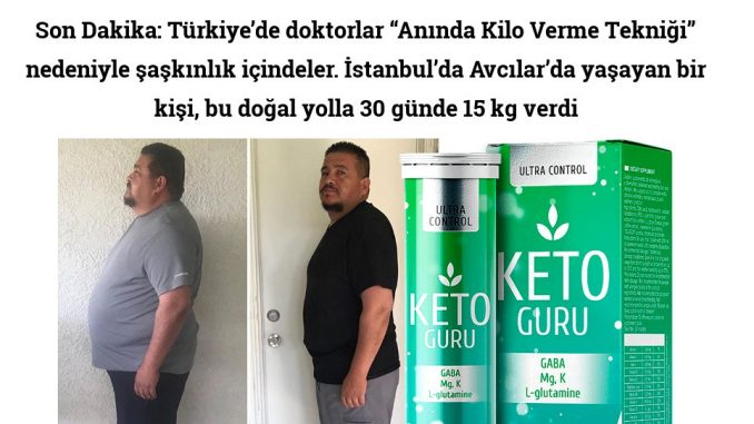 İstanbul'da Avcılar'da yaşayan bir kişi, bu doğal yolla 30 günde 15 kg verdi